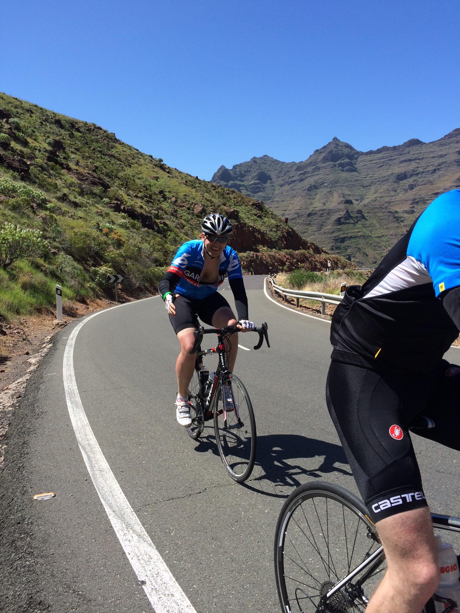 Klatring på Gran Canaria