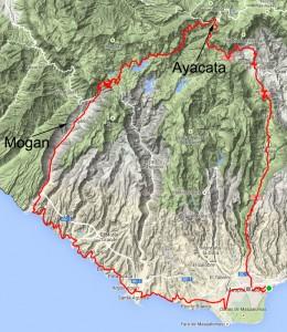 Mogan til Ayacata