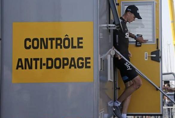 Froome ferdig i antidopingbua