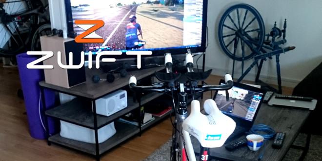 Virtuell sykling med Zwift