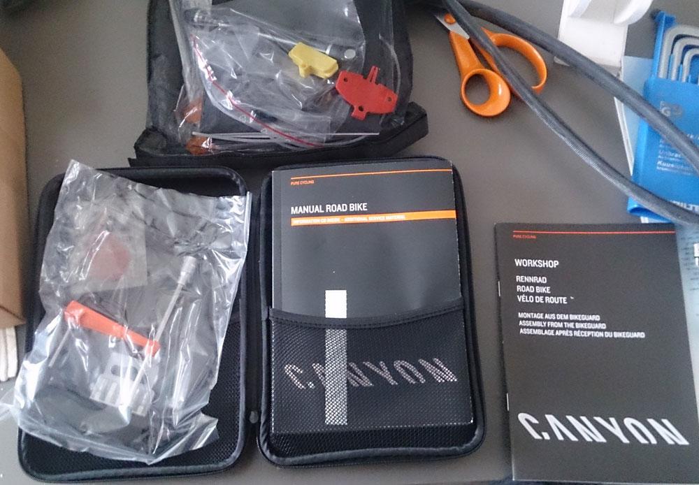 Canyon verktøy og manualer